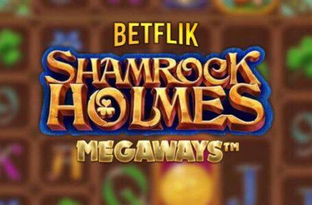 สล็อตทำเงินง่าย Shamrock Holmes จากค่าย Micro เข้าเล่นได้แล้ววันนี้ที่ BETFLIK ที่เดียว!